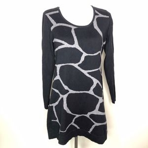 Alfani Giraffe Print Sweater Dress